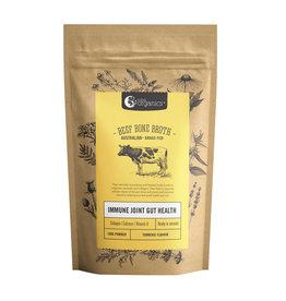 NutraOrganics Beef Bone Broth Powder Turmeric 125g