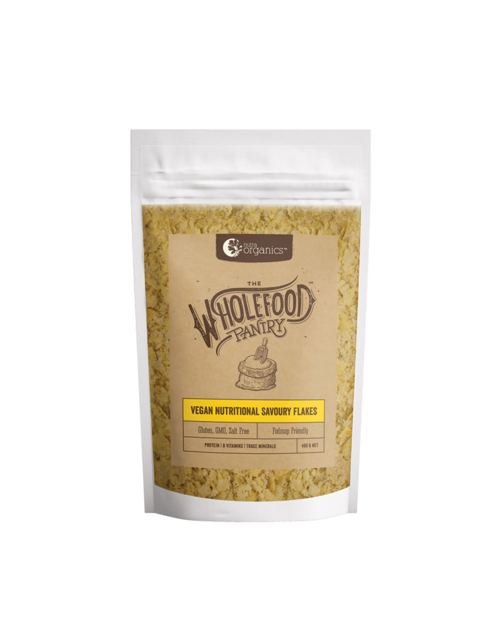 The Whole Food Pantry Vegan Nutritional Savoury Flakes 400g