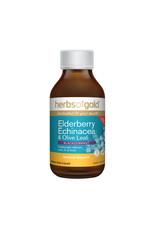Herbs of Gold Elderberry, Echinacea & Olive Leaf 200ml