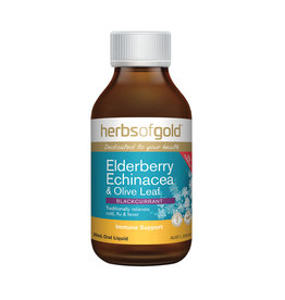 Herbs of Gold Elderberry, Echinacea & Olive Leaf 200ml