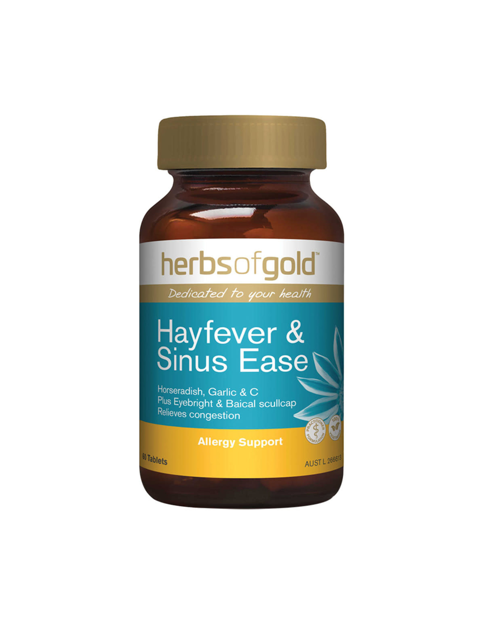 Herbs of Gold Hayfever and Sinus Ease 60t