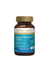 Herbs of Gold Natural Vitamin E 500IU