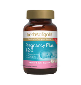 Herbs of Gold Pregnancy Plus 1-2-3 60t