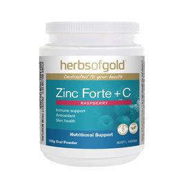 Herbs of Gold Zinc Forte + C 100g