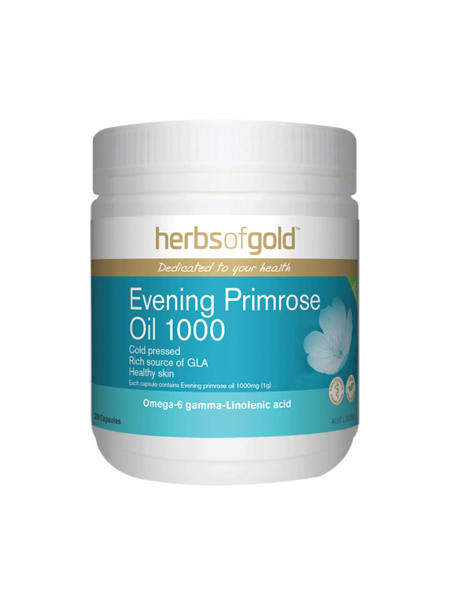 Herbs of Gold Evening Primrose Oil 1000 200c