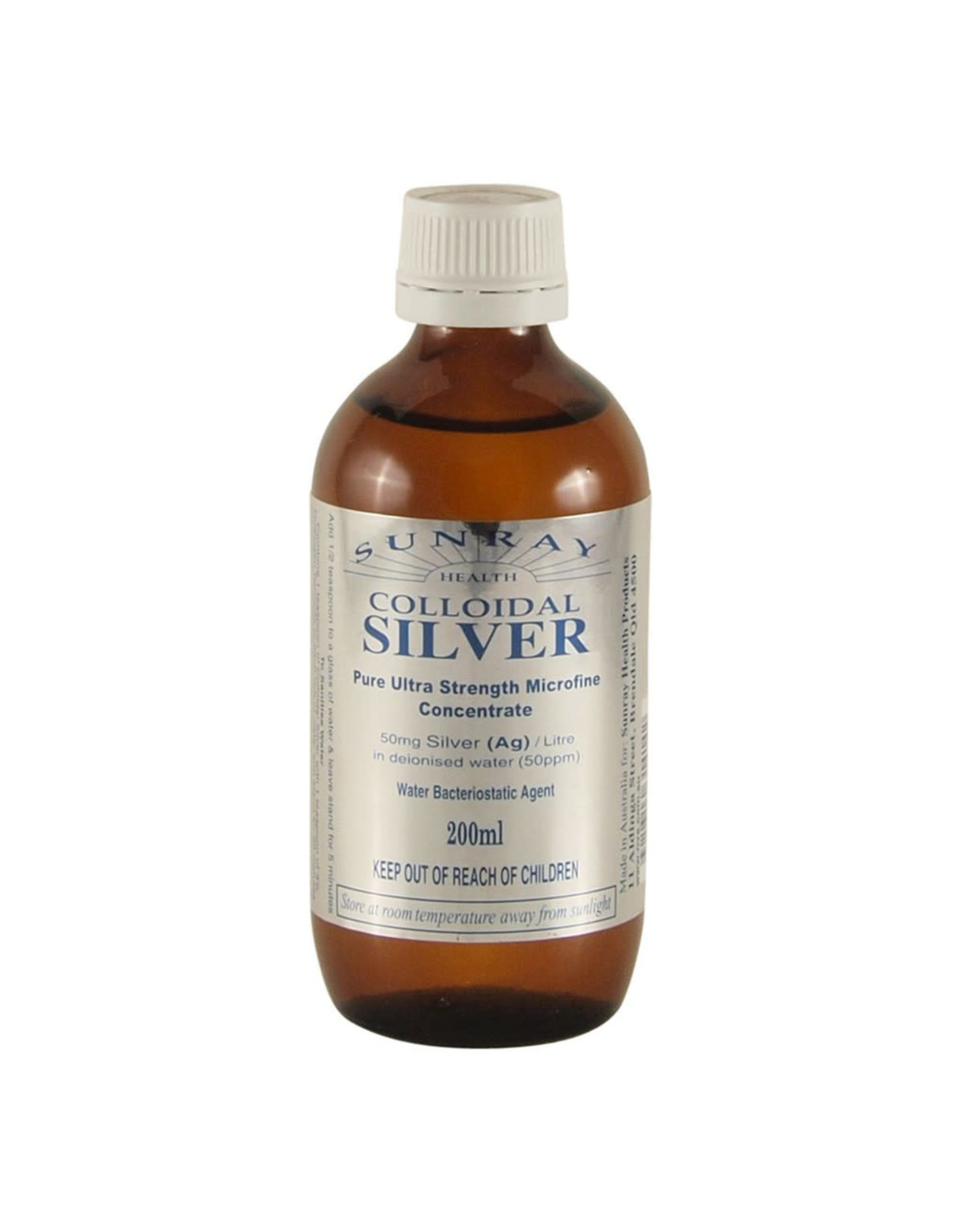 Sunray Colloidal Silver 200ml