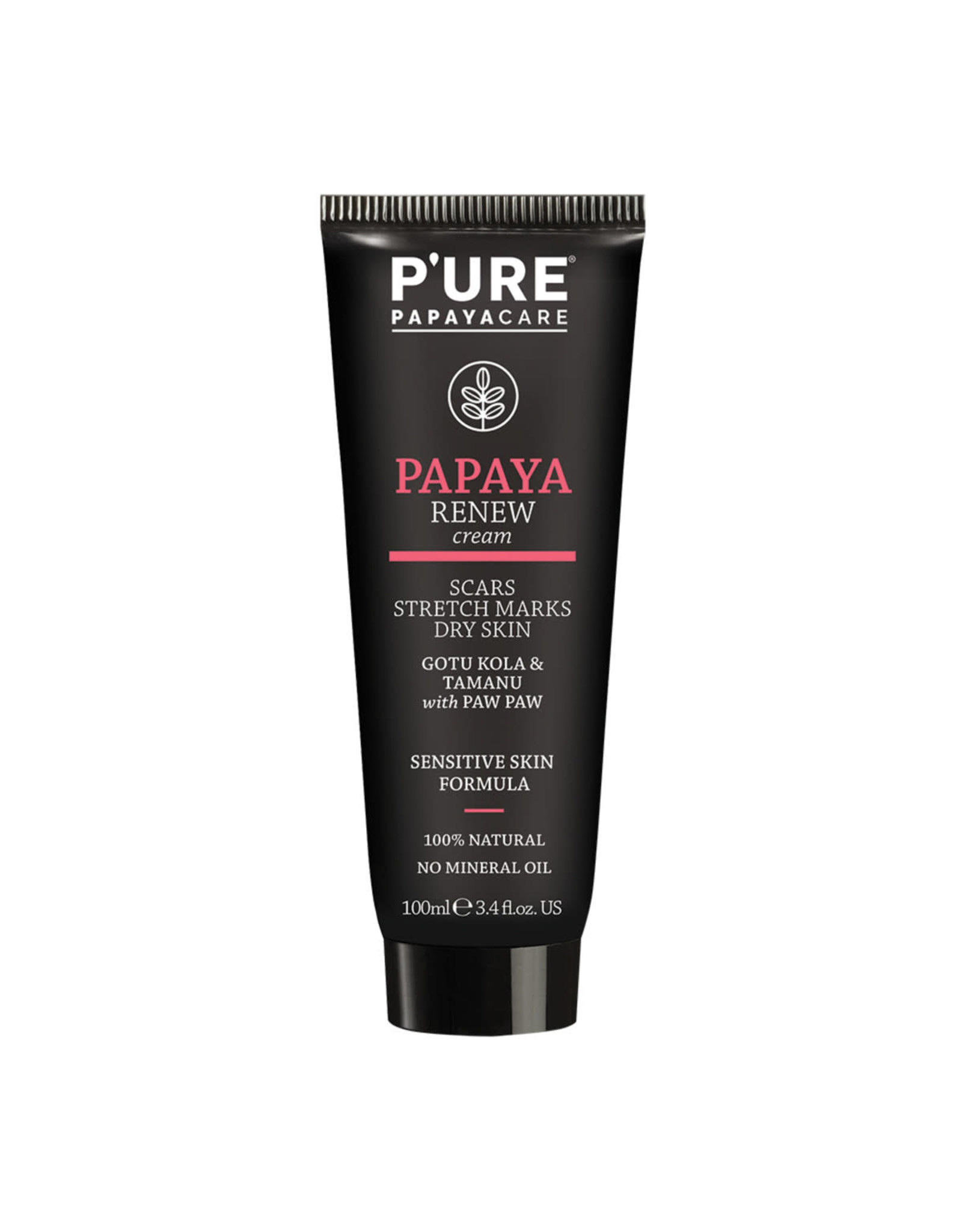 Pure By Phytocare Papaya Renew Cream (Gotu Kola & Tamanu with Paw Paw) 100ml
