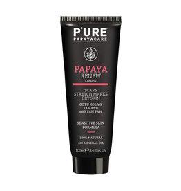 Pure By Phytocare Papaya Renew Cream (Gotu Kola & Tamanu with Paw Paw) 100ml