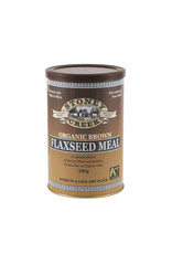 Stoney Creek Organic Flaxseed Meal Brown 500g