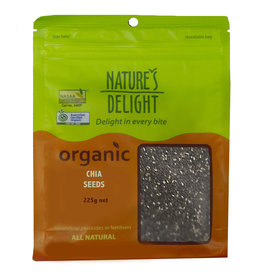 Nature's Delight Organic Chia Seeds 225g