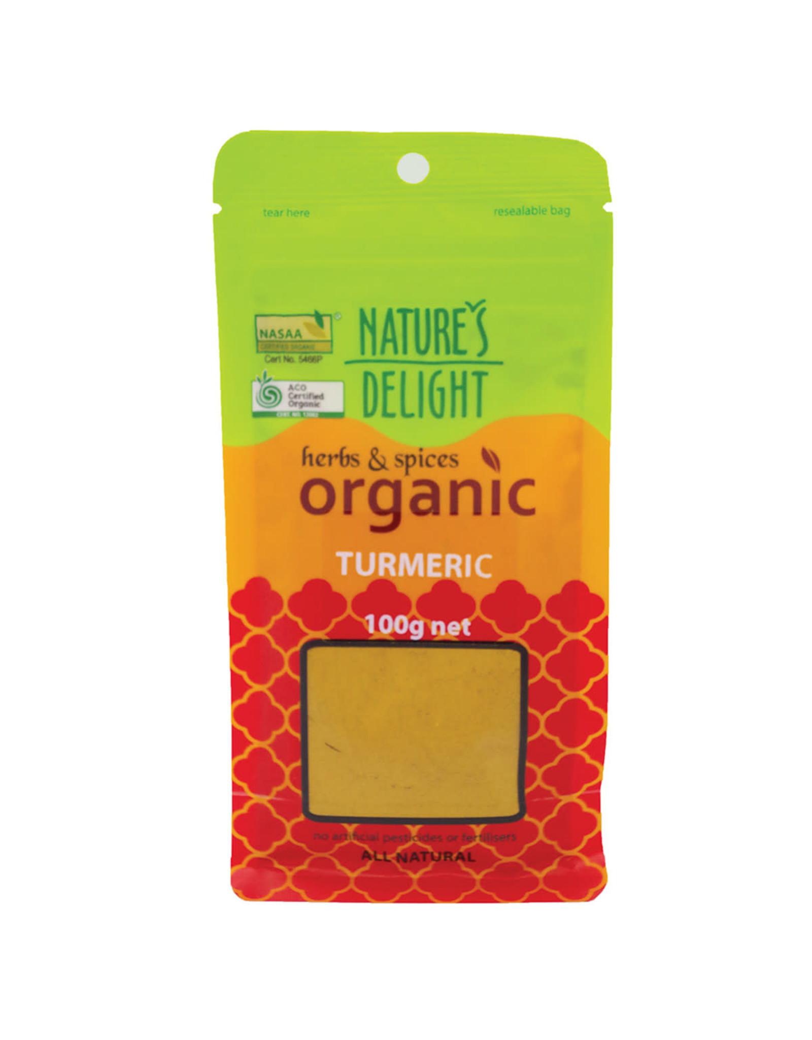 Nature's Delight Organic Turmeric Powder 100g