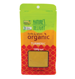 Nature's Delight Organic Turmeric Powder 100g