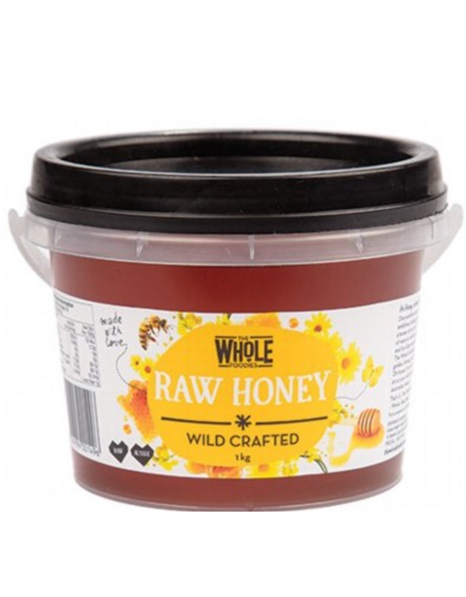 The Whole Foodies Honey (Wild Crafted) Tub - 1kg