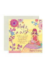 Intrinsic Birthday Make a Wish Birthday Card