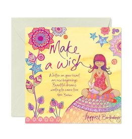 Intrinsic Birthday Make a Wish Birthday Card