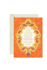 Intrinsic Heartfelt Thanks Greeting Card