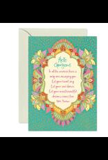 Intrinsic Hello Gorgeous Greeting Card