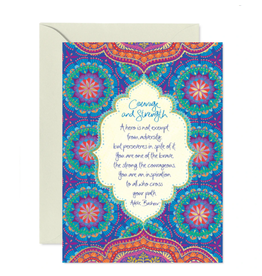 Intrinsic Courage & Strength Greeting Card