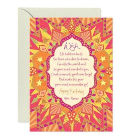 Intrinsic Birthday Wish Greeting Card