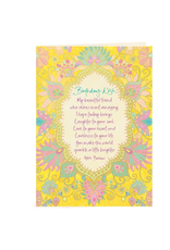 Intrinsic Birthday Beautiful Friend Greeting Card