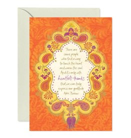 Intrinsic Heartfelt Thanks Greeting Card
