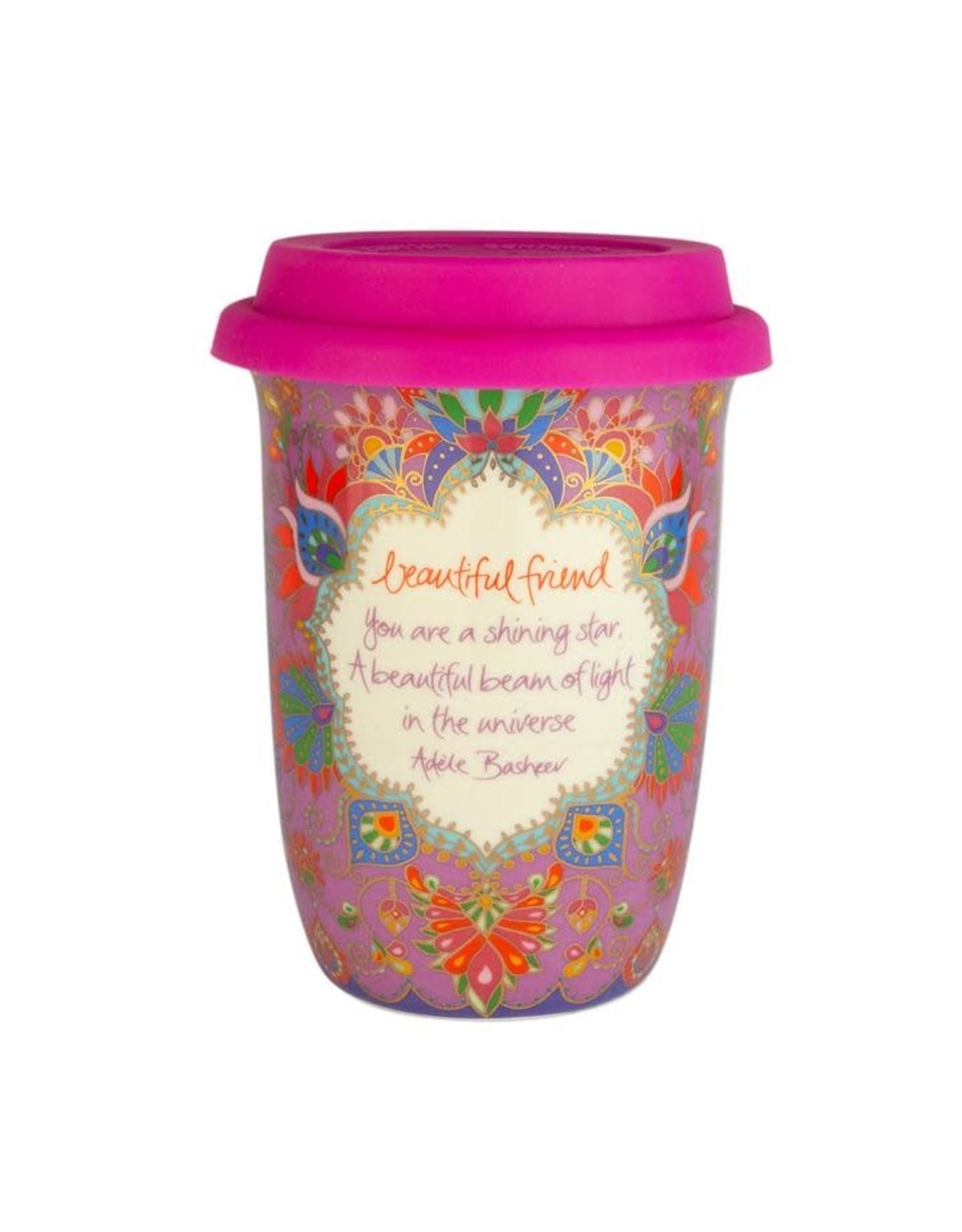 Intrinsic Beautiful Friend Travel Mug