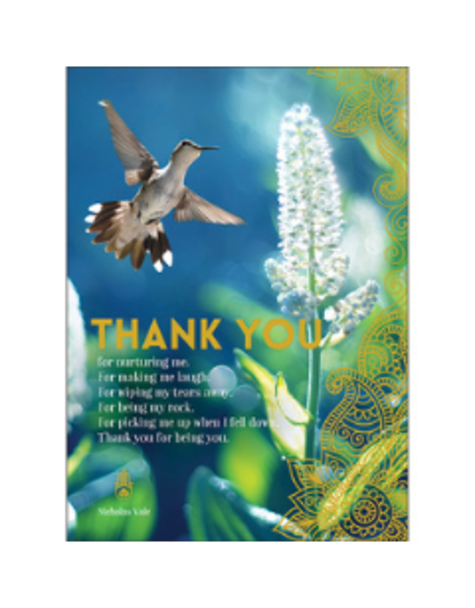 Affirmations Publishing House Greeting Card - Thank You