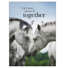 Affirmations Publishing House Greeting Card - Life's Better When We're Together
