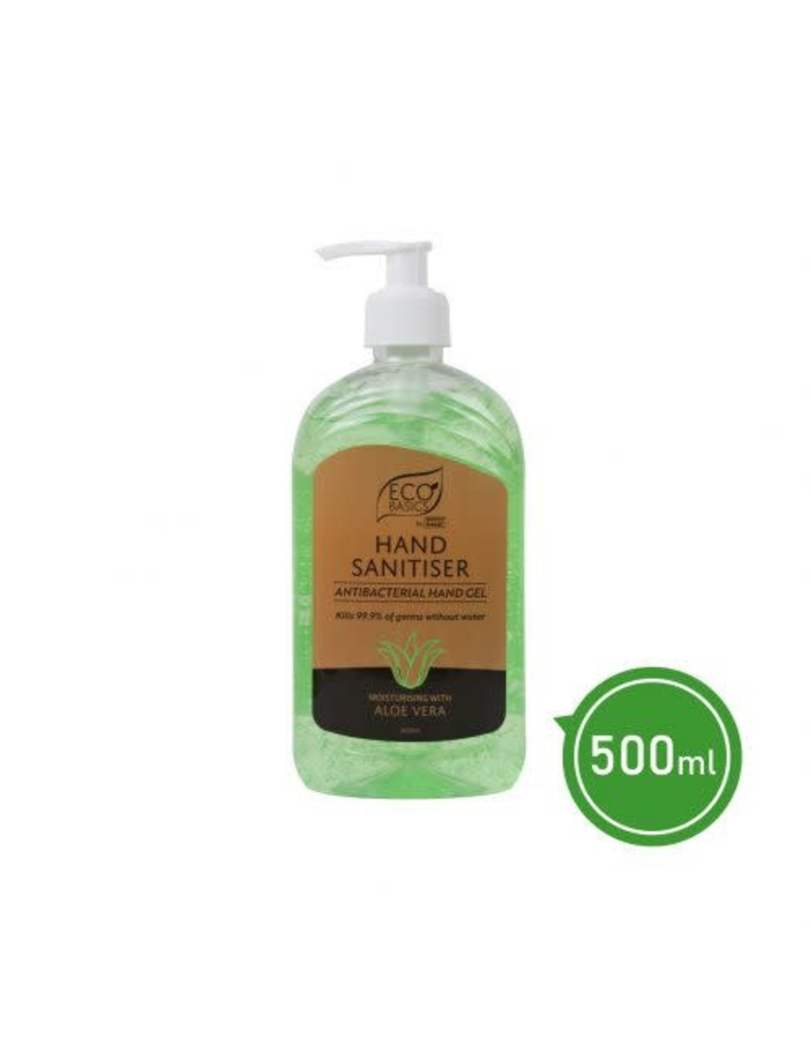 Eco Basics Hand Sanitiser - Antibacterial Hand Gel with Aloe Vera