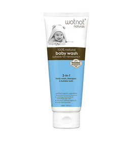 Wotnot Baby Wash - Suitable For Newborns 250ml