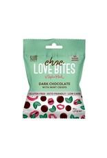 Slim Secrets Choc Love Bites Dark Chocolate with Mint Crisps 36g