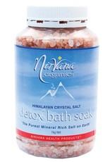 Nirvana Organics Bath Detox Soak 1kg