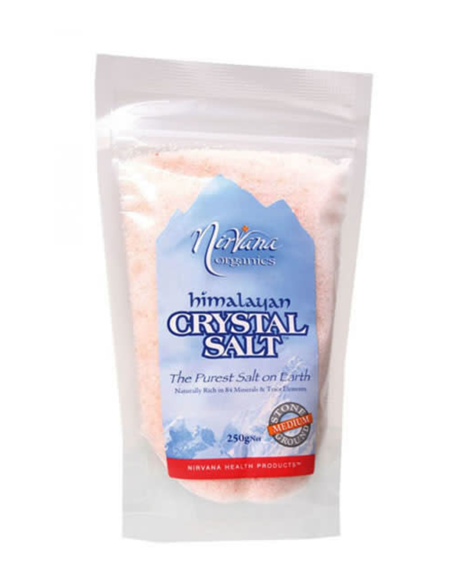 Nirvana Organics Himalayan Salt Medium 250g