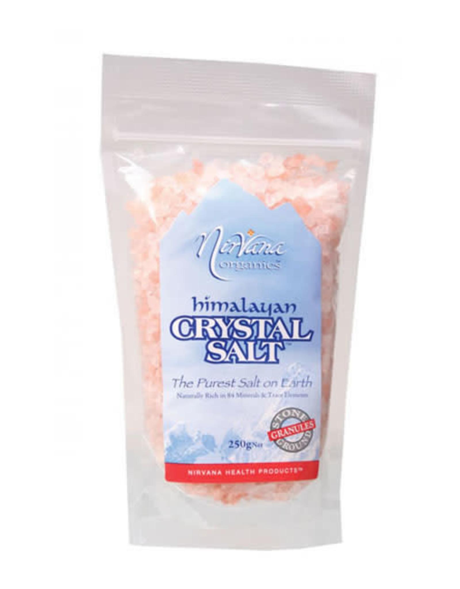 Nirvana Organics Himalayan Salt Granules 250g