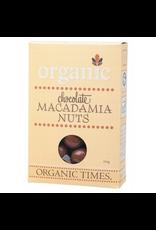 Organic Times Chocolate Macadamia Nuts 150g