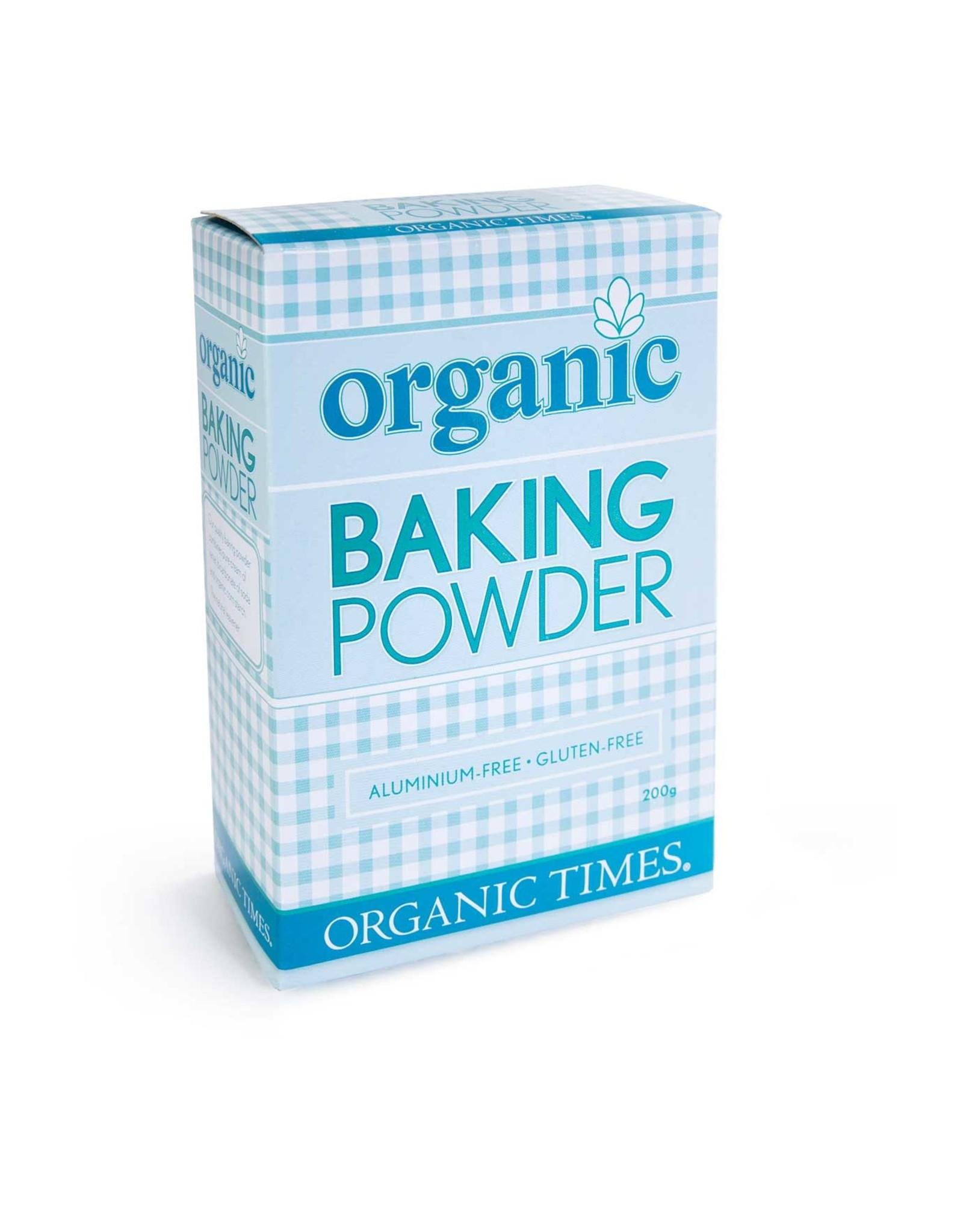 Organic Times Baking Powder - Organic - 200g