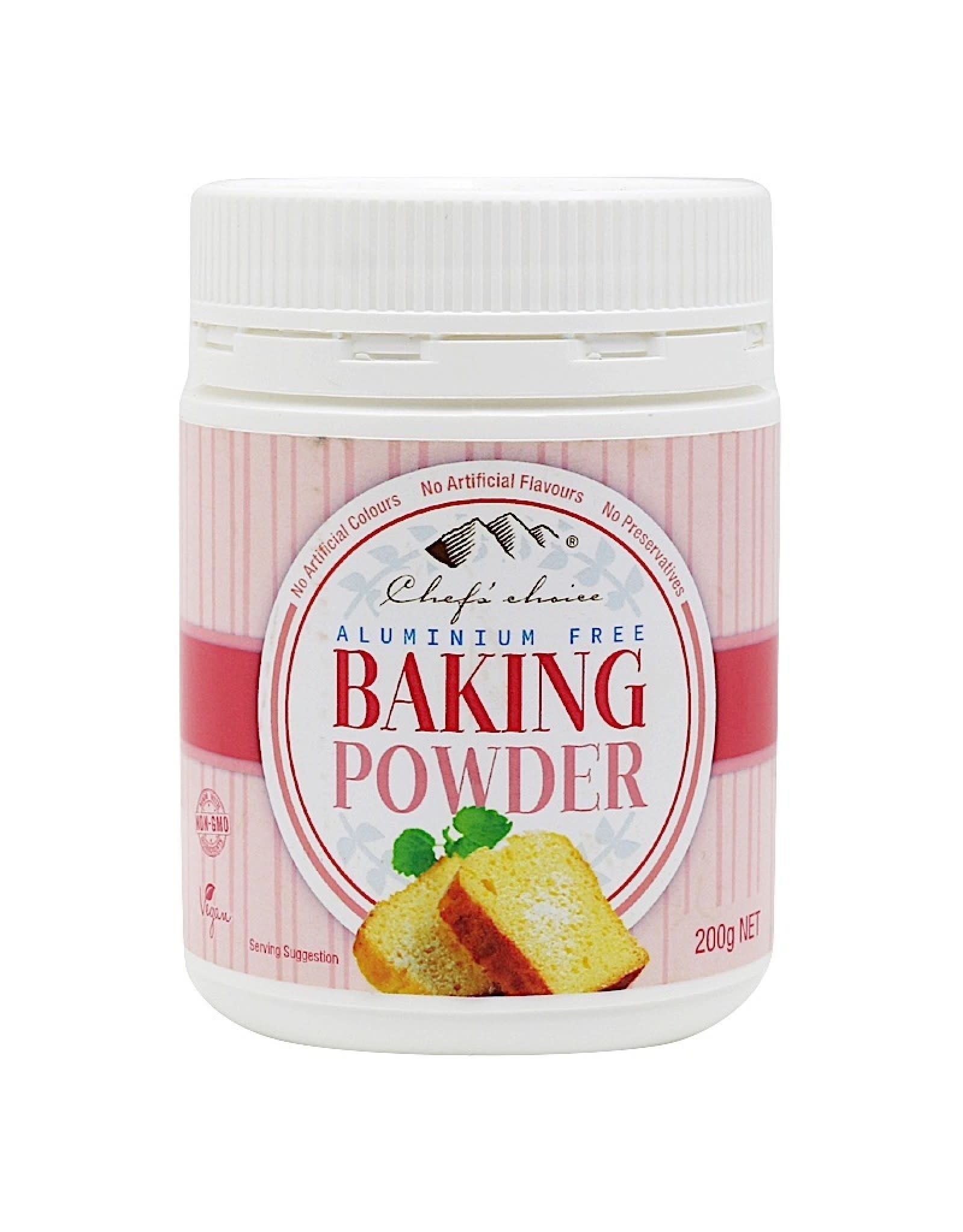 Chef's Choice Baking Powder - Aluminum Free - 200g