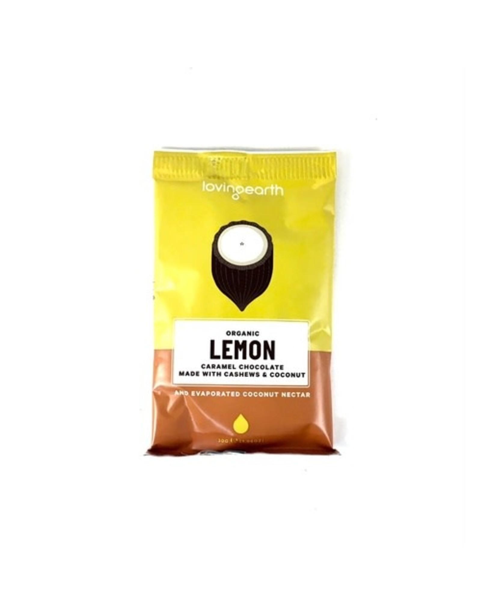 Loving Earth Lemon Caramel Chocolate 30g