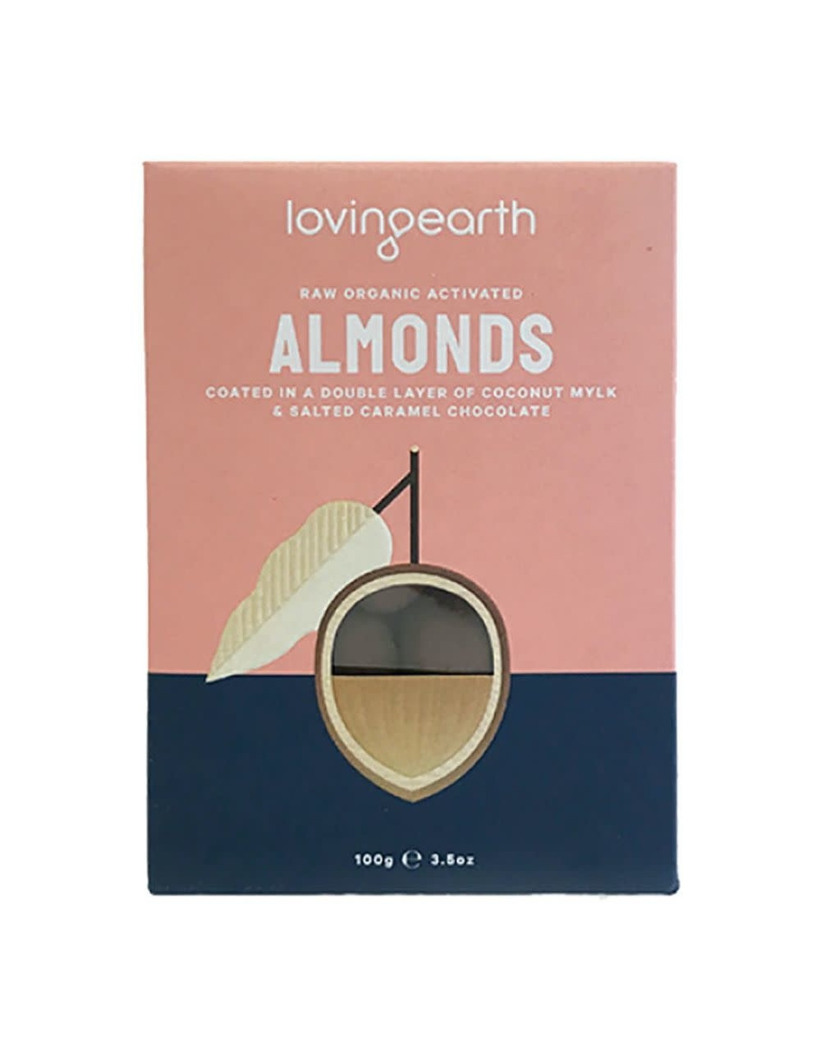 Loving Earth Almonds in Mylk and Salted Caramel Chocolate