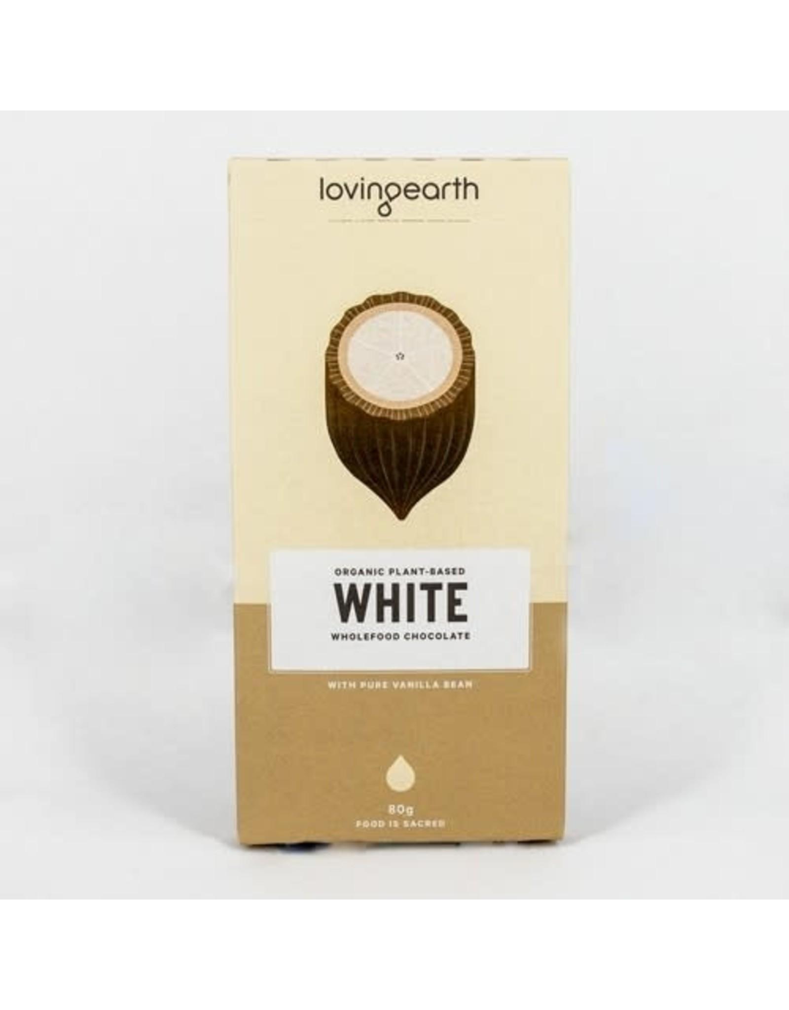Loving Earth White Chocolate