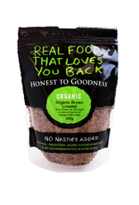 Honest To Goodness Organic Brown Linseed