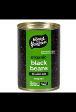 Honest To Goodness Organic Black Beans 400g