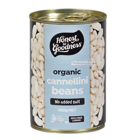 Honest To Goodness Organic Cannellini Beans 400g