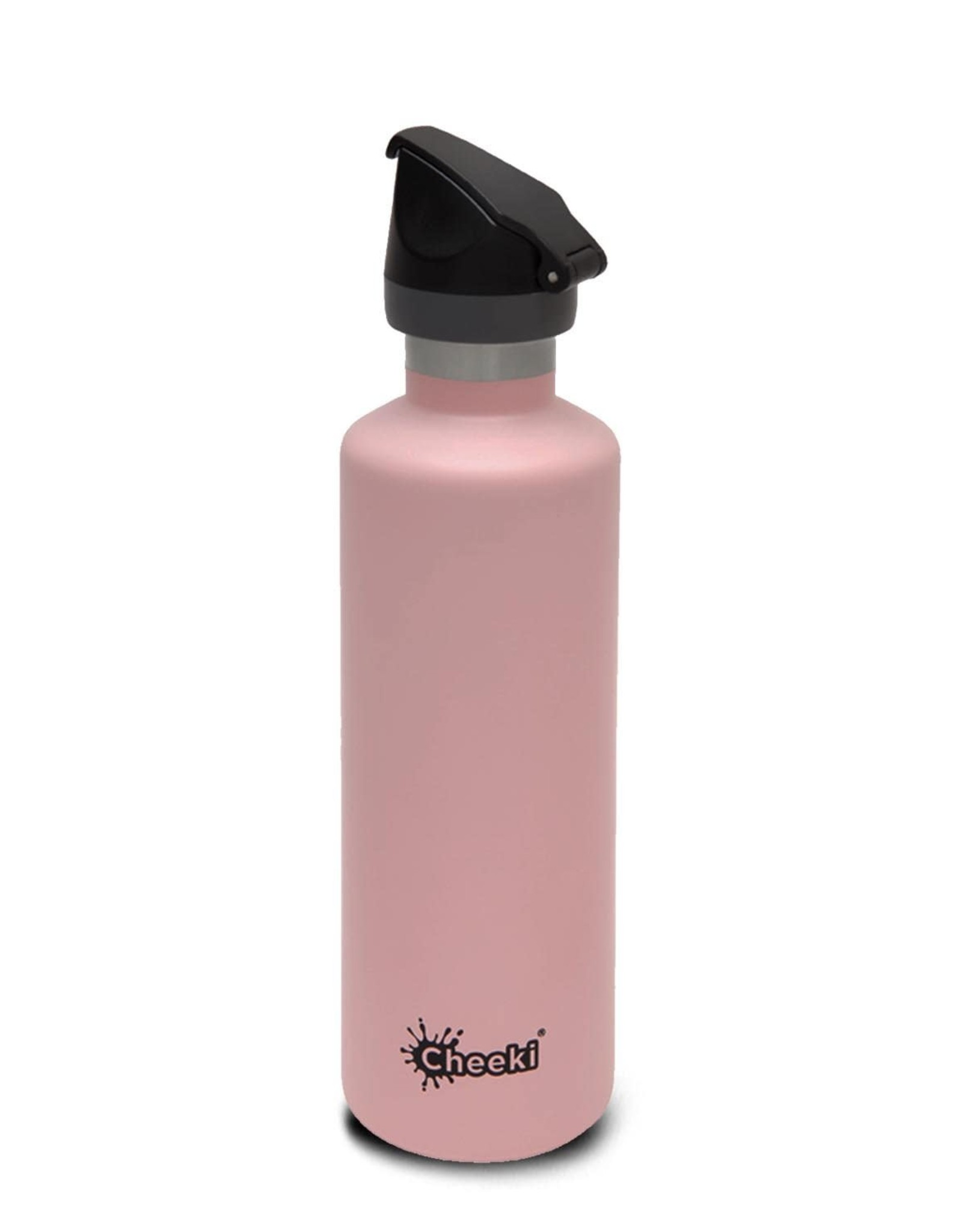 Cheeki Stainless Steel Bottle Insulated with Sports Lid 600ml