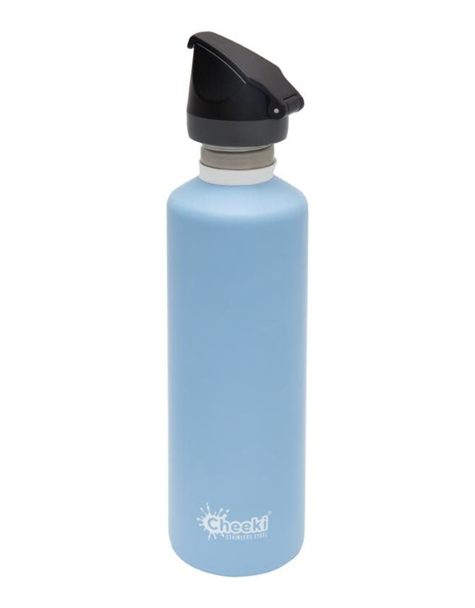 Cheeki Stainless Steel Bottle with Sports Lid 750ml