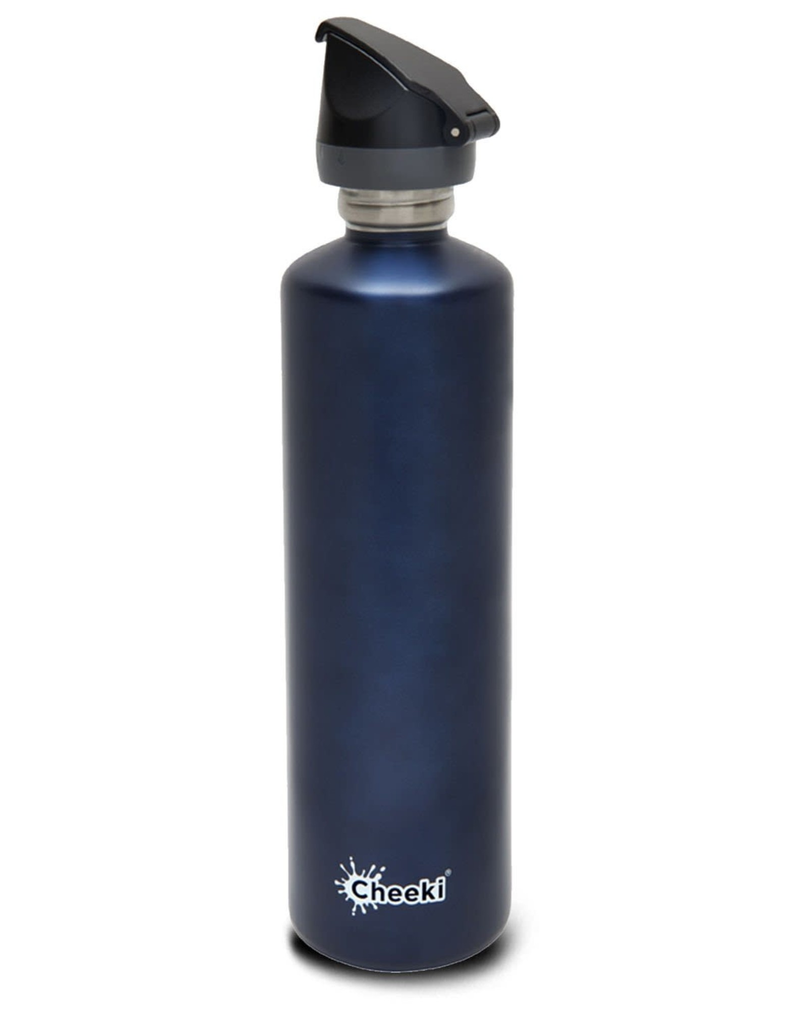 Cheeki Stainless Steel Bottle with Sports Lid 1L