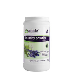 Abode Abode Laundry Powder (Front Top) Wild Lavender and Mint 1kg
