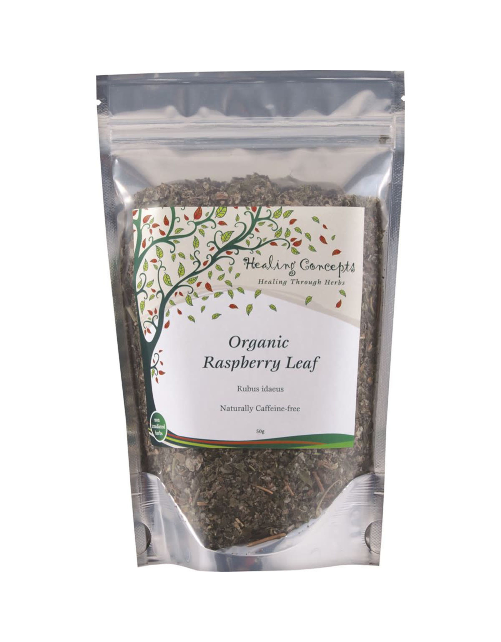 Healing Concepts Organic Raspberry Leaf Tea 50g
