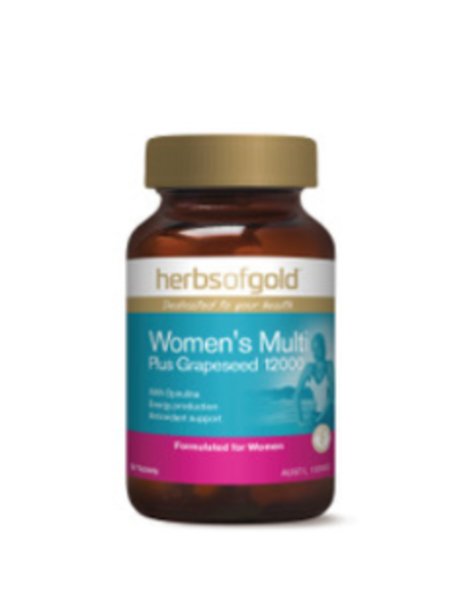 Herbs of Gold Women's Multi Plus Grapeseed 12000 30t