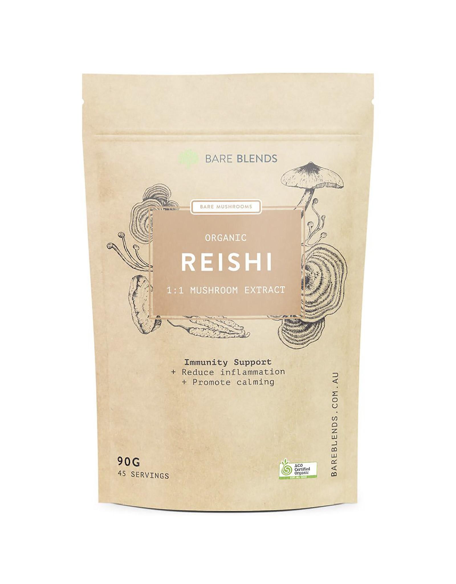 Bare Blends Reishi Mushroom - Organic - 90g